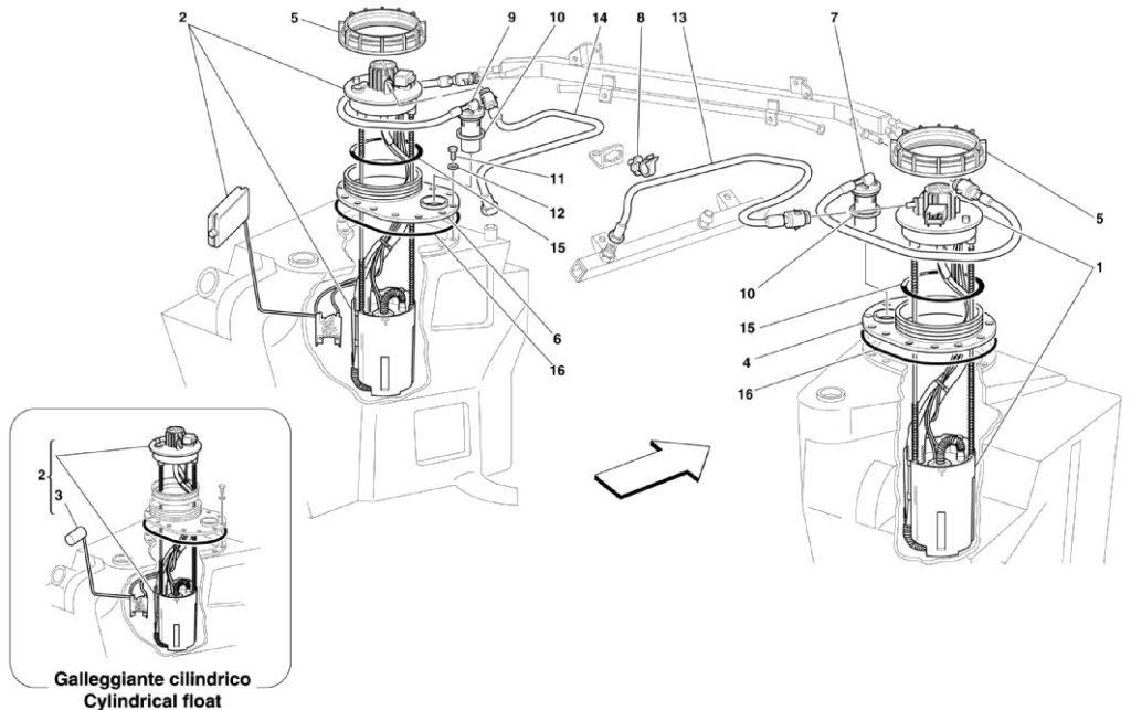 ferrari-360-modean-fuel-pump-parts-diagram