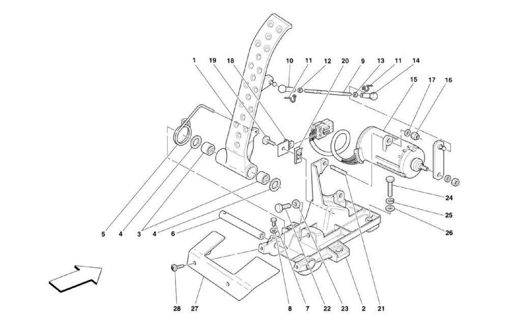 ferrari-360-modena-electronic-accelerator-pedal-parts-diagram