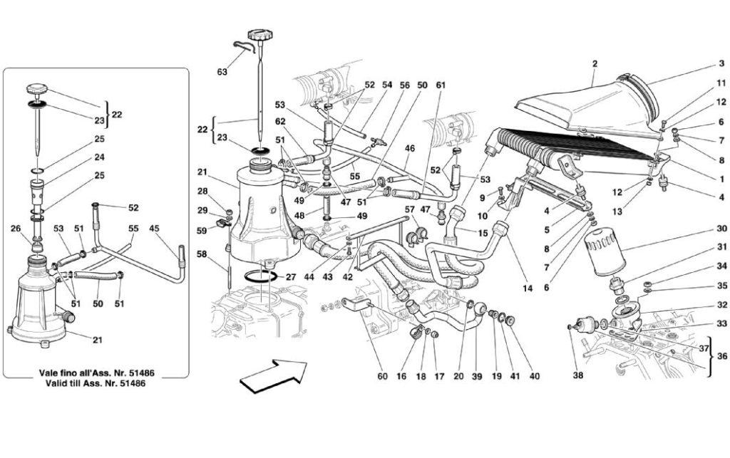ferrari-360-modena-lubrication-blow-by-parts-diagram
