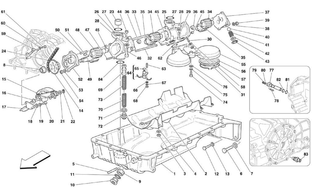 ferrari-360-oil-sump-parts-diagram