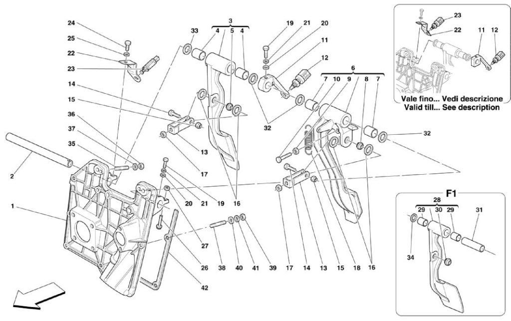ferrari-360-modena-non-rhd-pedal-parts-diagram