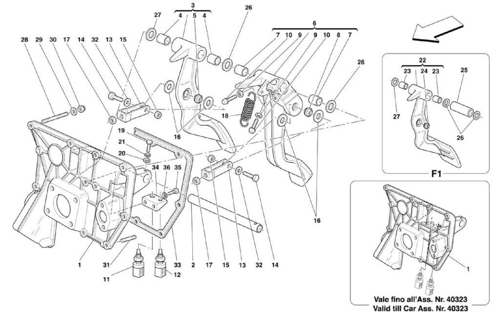 ferrari-360-rhd-pedal-parts-diagram