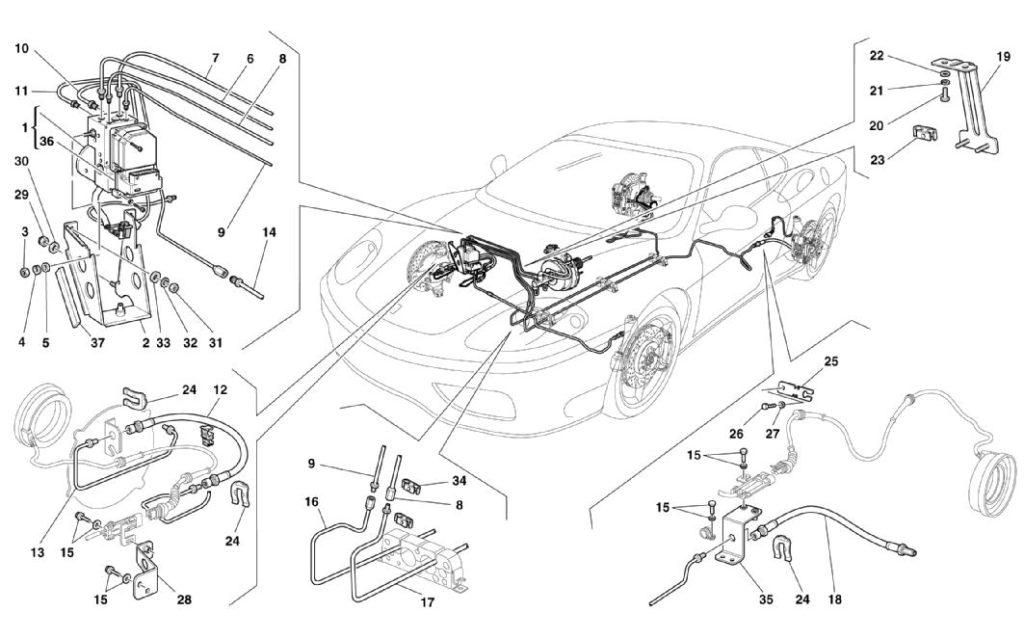 ferrari-360-modena-non-rhd-brakes-parts-diagram