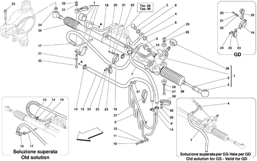 ferrari-360-modena-hydraulic-steering-parts-diagram