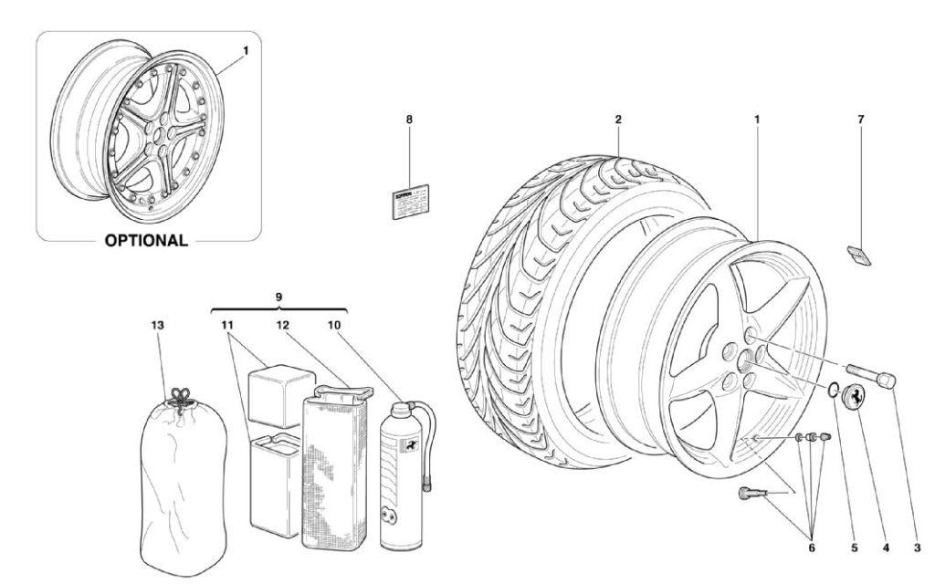ferrari-360-modena-wheels-parts-diagram
