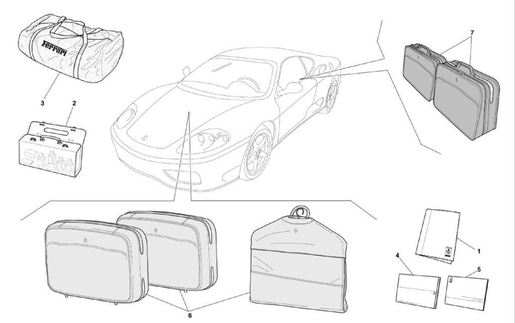 ferrari-360-modena-documentation-and-accessories-parts-diagram