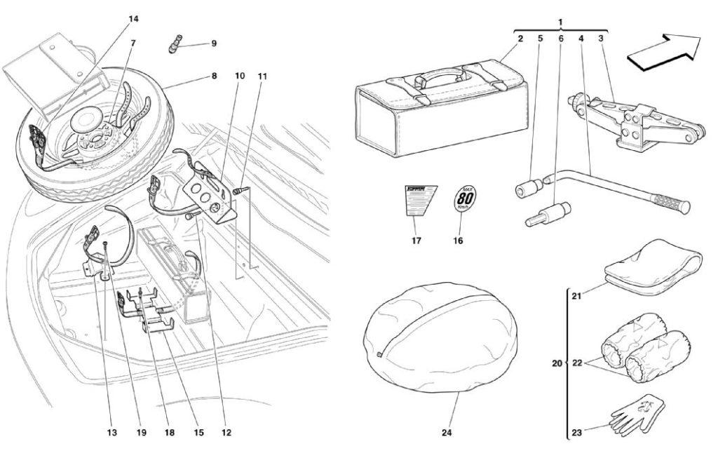 ferraroi-360-modena-spare-wheel-parts-diagram