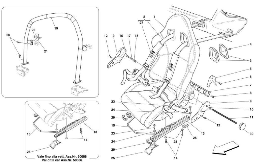 ferrari-360-modena-racing-seats-parts-diagram
