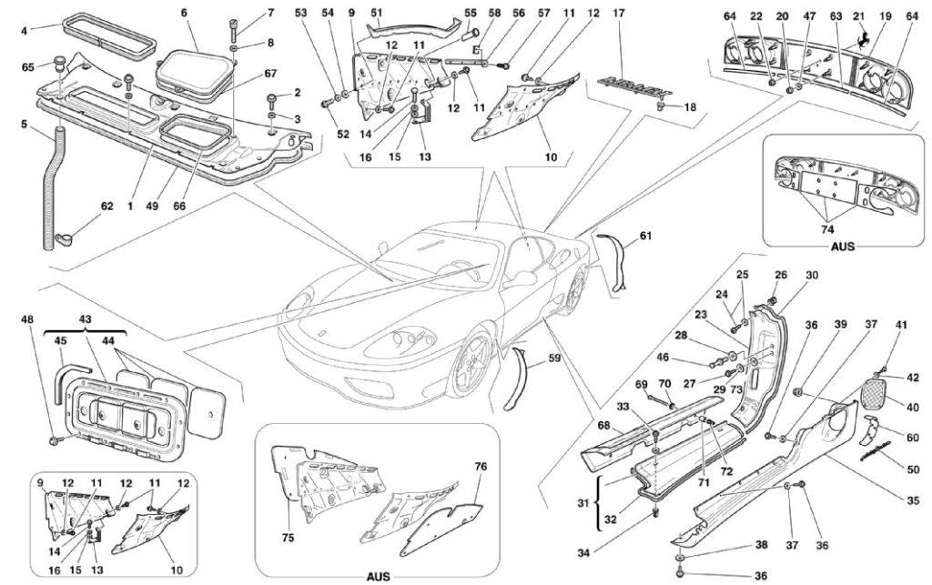 ferrari-360-modena-outside-finishes-parts-diagram