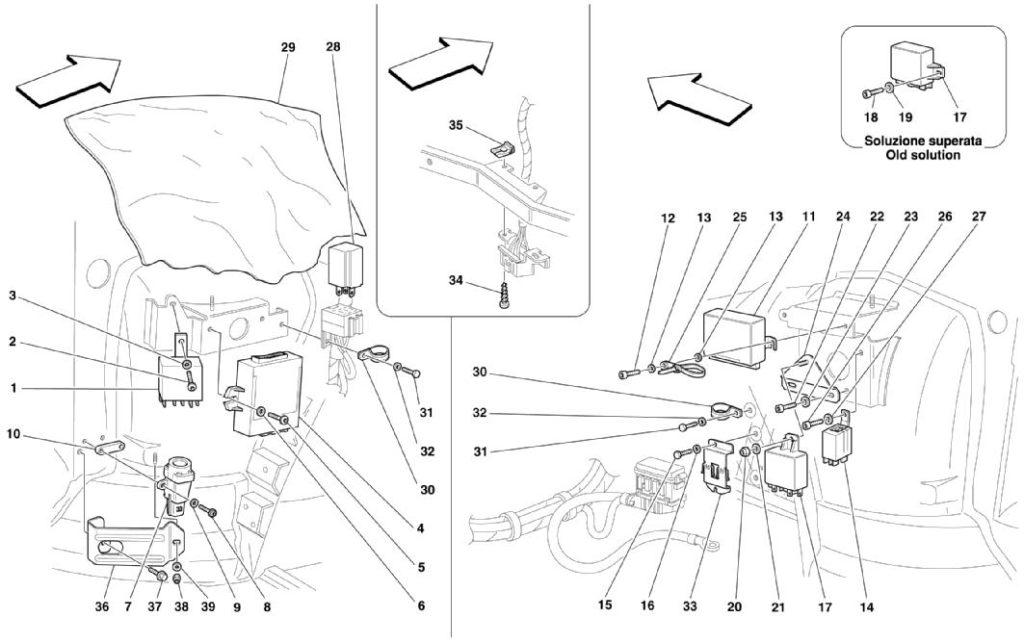 ferrari-360-modena-passenger-door-controls-parts-diagram