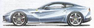 silver-ferrari-f12