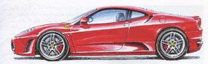 red-ferrari-f430